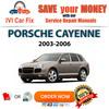 Thumbnail Porsche Cayenne 2003-2006 Repair Manual Servie PDF